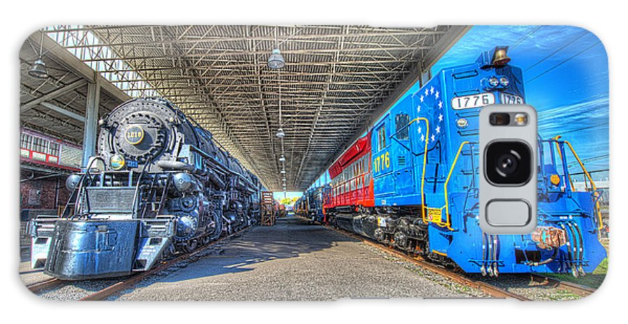 Historic Galaxy S8 Case featuring the photograph Norfolk And Western 1776 And 1218 by Greg Hager