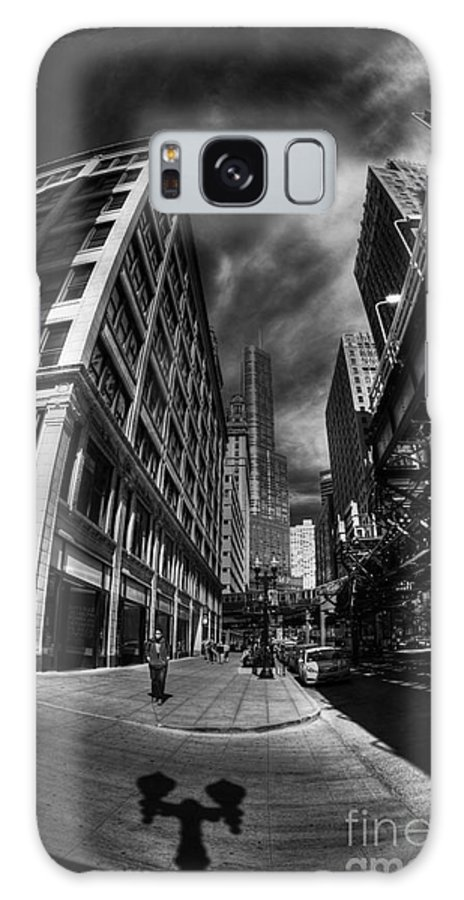 Wabash Avenue Galaxy S8 Case featuring the photograph North On Wabash by David Bearden