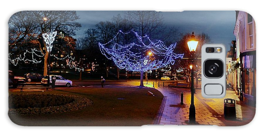 Christmas Galaxy S8 Case featuring the photograph North Yorkshire Lights by Dwight Pinkley