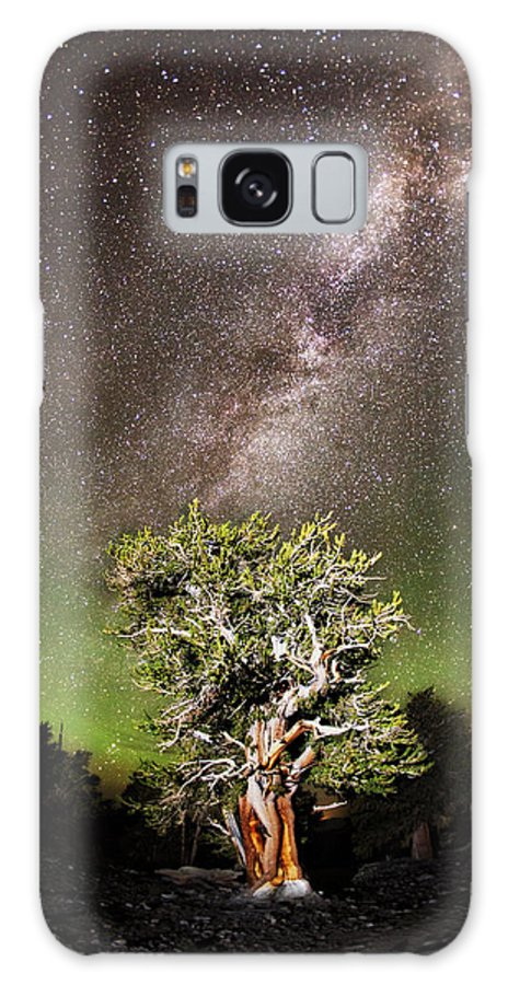 Northern Lights Galaxy S8 Case featuring the photograph Northern Son by Lon Lovett