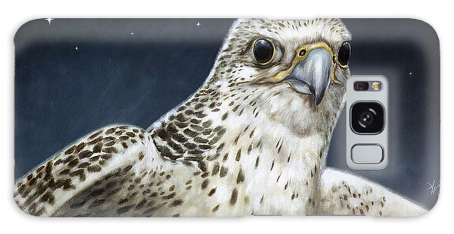 Falcon Galaxy S8 Case featuring the painting Northern Star by Arie Van der Wijst