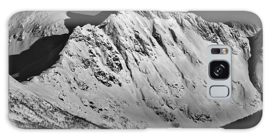 Norway Galaxy S8 Case featuring the photograph Norwegian Arctic Mountains by David Broome