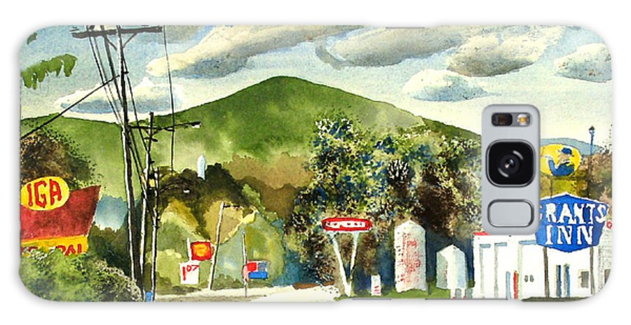 Nostalgia Arcadia Valley 1985 Galaxy S8 Case featuring the painting Nostalgia Arcadia Valley 1985 by Kip DeVore