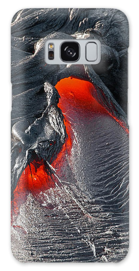 Hawaii Galaxy S8 Case featuring the photograph Nostrils Flare by Jim Southwell