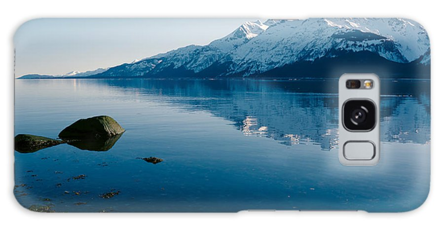 Alaska Galaxy S8 Case featuring the photograph Not A Cloud In The Sky by Michele Cornelius