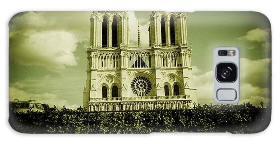Notre Dame Cathedral Paris Europe Galaxy S8 Case featuring the photograph Notre Dame by Duncan Snow