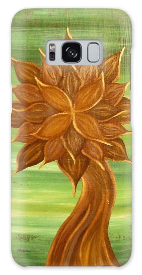 Tree Galaxy S8 Case featuring the painting November by Martha Walters