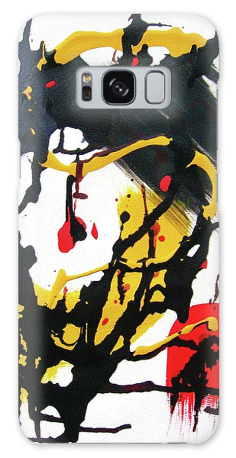 Abstraction Galaxy S8 Case featuring the painting Nuances And Meanings by Roberto Prusso