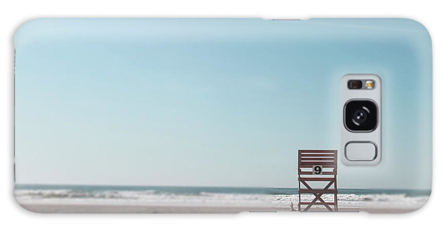 Beach Galaxy S8 Case featuring the photograph Number 9 by Mallory Bottesch