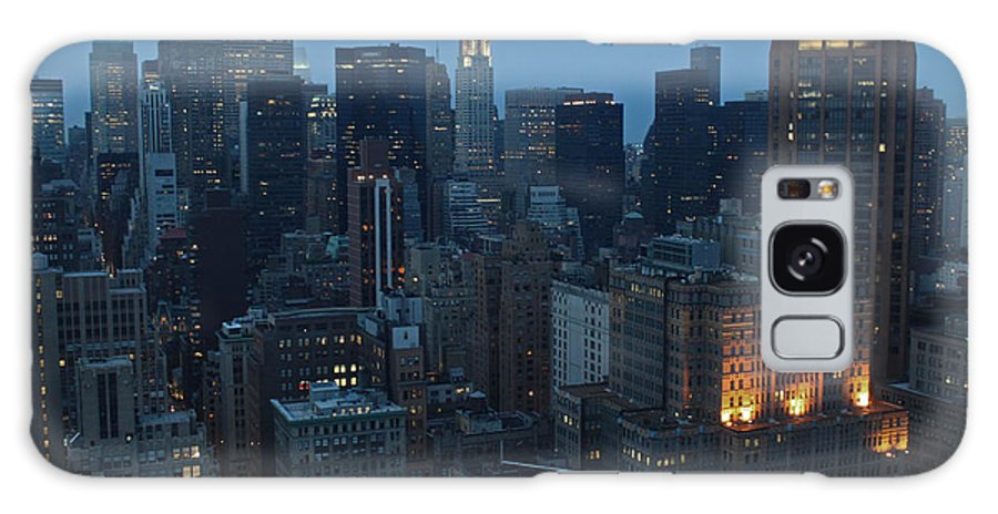 Nyc Galaxy S8 Case featuring the photograph Nyc Chrysler Building by Joseph Semary