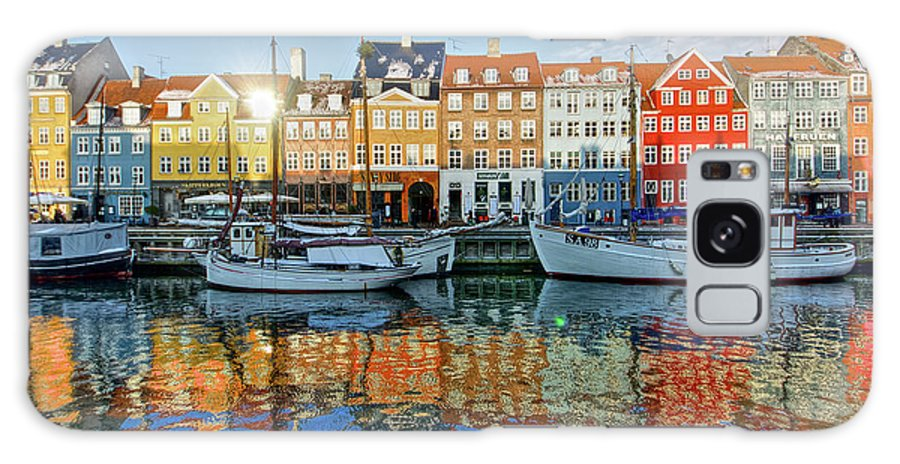 Copenhagen Galaxy Case featuring the photograph Nyhavn, Copenhagen, Denmark by Kateryna Negoda