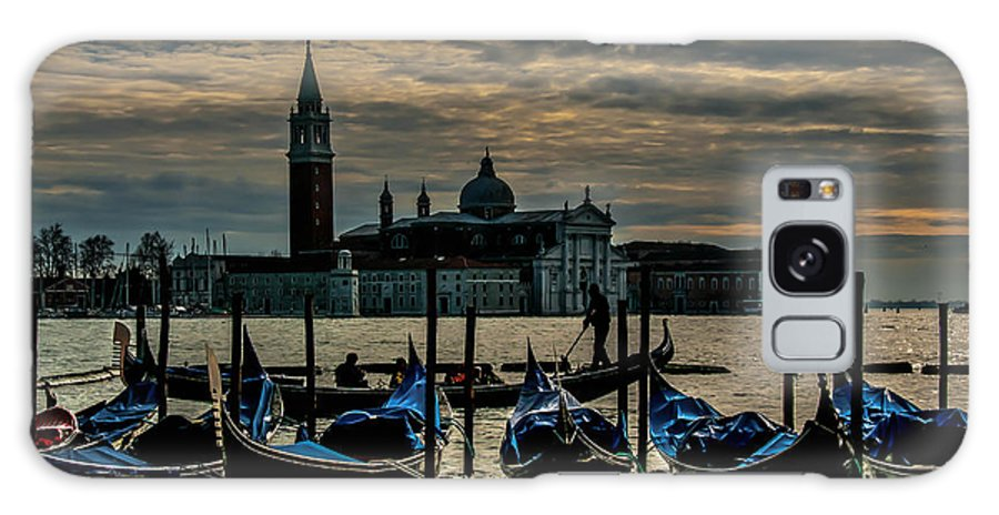 Venice Galaxy S8 Case featuring the photograph O Sole Mio by Jim Southwell
