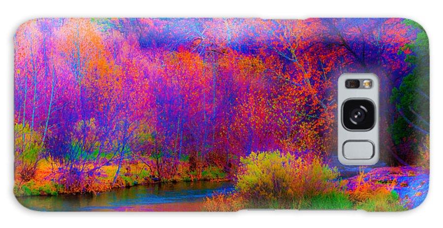 World On Acid Galaxy S8 Case featuring the photograph Oak Creek Acid 2 by Kent Nancollas