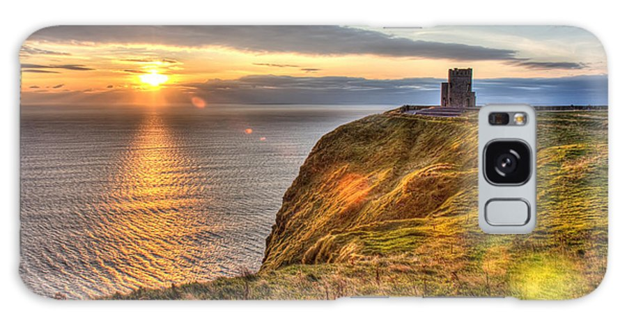 Obriens Tower Galaxy S8 Case featuring the photograph O'brien's Tower Ireland by Pierre Leclerc Photography