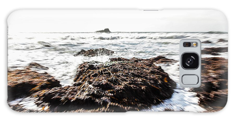 Ocean Galaxy S8 Case featuring the photograph Ocean Movement by Tim Tolok