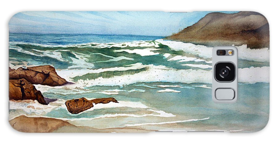 Rick Huotari Galaxy S8 Case featuring the painting Ocean Side by Rick Huotari