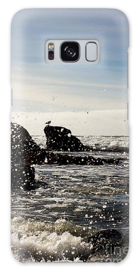 Ocean Galaxy S8 Case featuring the photograph Ocean Splash by Tim Tolok