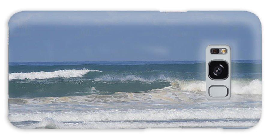 Ocean Waves Galaxy S8 Case featuring the photograph Ocean Wave 1 by Phoenix De Vries