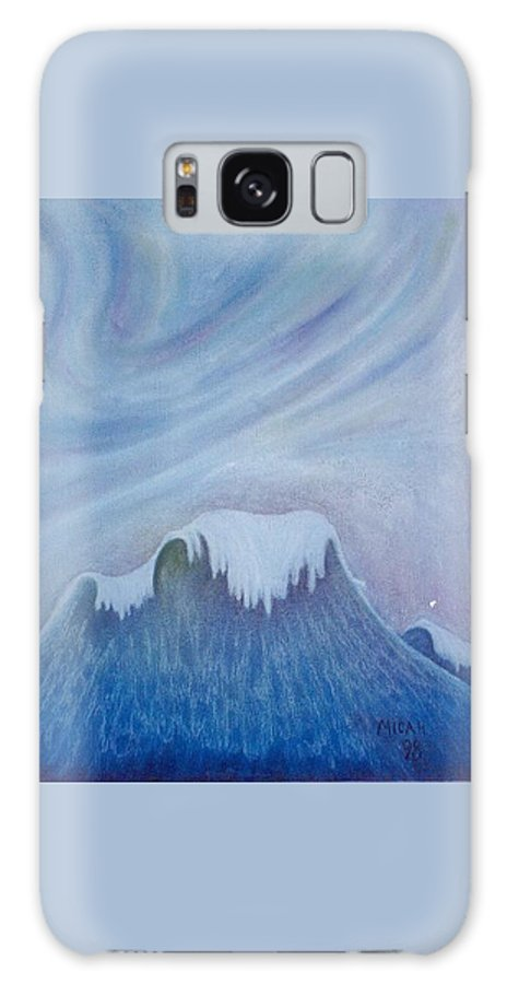 Ocean Galaxy Case featuring the painting Ocean Wave by Micah Guenther
