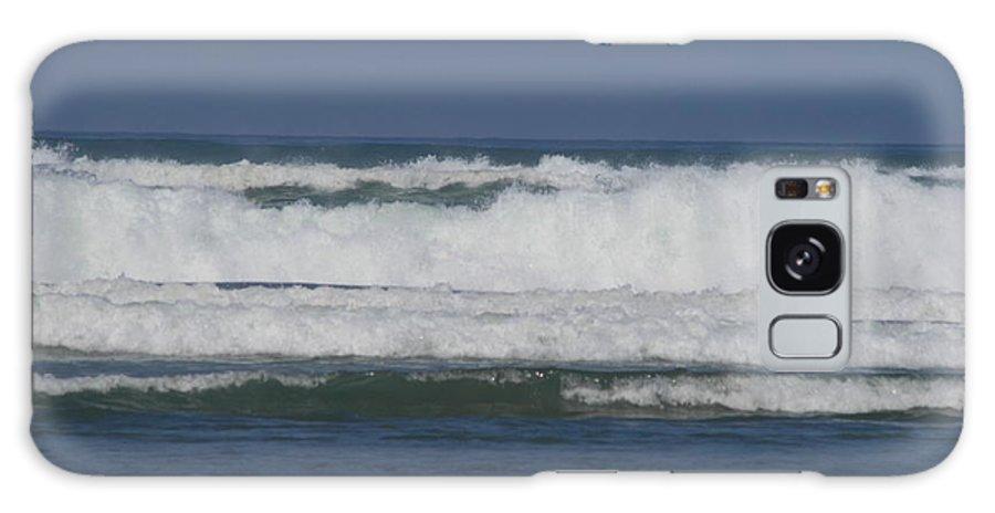 Ocean Galaxy S8 Case featuring the photograph Ocean Waves 2 by Phoenix De Vries