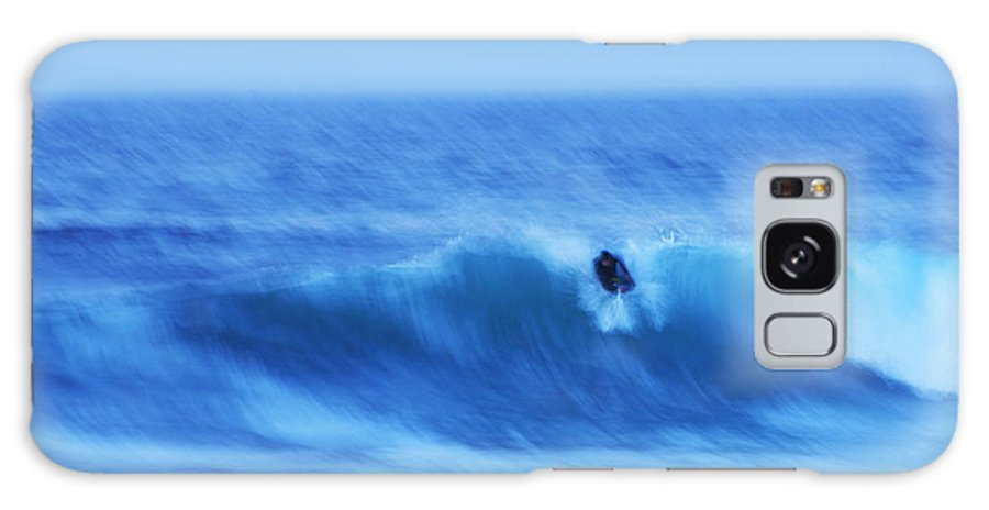 Monterey Bay Galaxy S8 Case featuring the photograph October Surf 3 by Christopher Koski