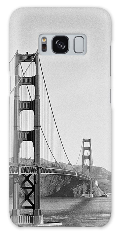Golden Gate Bridge Galaxy S8 Case featuring the photograph Off Color by Lucia Vicari