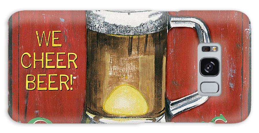 Pub Galaxy S8 Case featuring the painting O'Grady's Pub by Debbie DeWitt