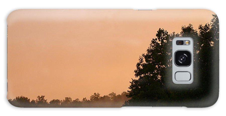 Ohio Galaxy S8 Case featuring the photograph Ohio Fog by Anita Freeman