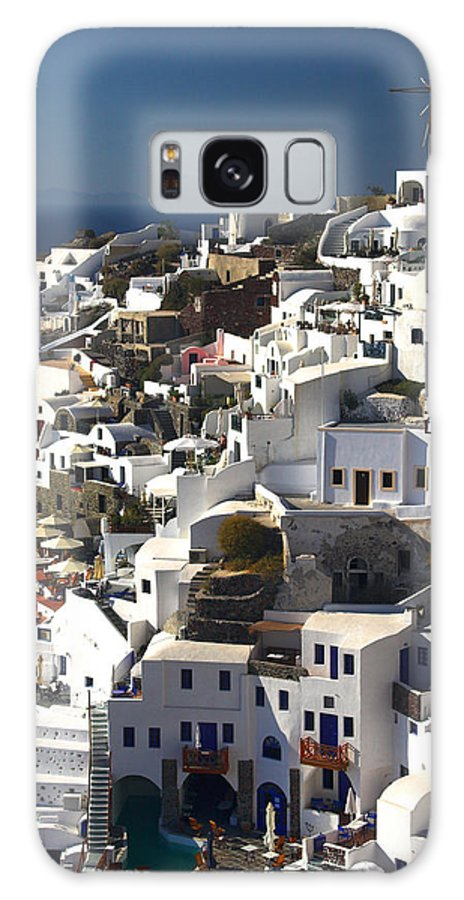 Oia Galaxy S8 Case featuring the photograph Santorini by Ollie Taylor