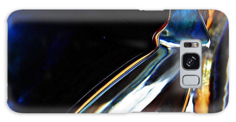 Abstract Galaxy S8 Case featuring the photograph Oil And Water 4 by Sarah Loft