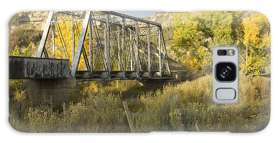Cottonwood Galaxy S8 Case featuring the photograph Old Bridge At La Boca by Jerry McElroy