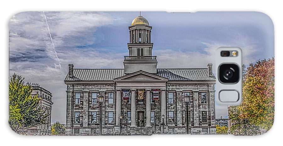 Old Capitol Galaxy S8 Case featuring the photograph Old Capitol by Ray Congrove