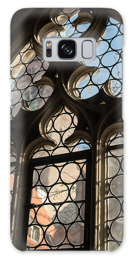 Window Galaxy S8 Case featuring the photograph Old Church Window by Frank Gaertner