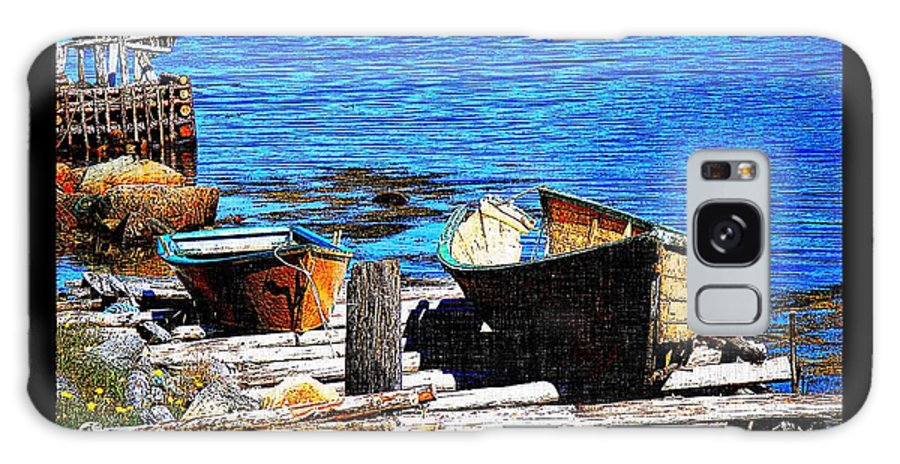 Old Dory New Punt Galaxy S8 Case featuring the photograph Old Dory New Punt by Barbara Griffin