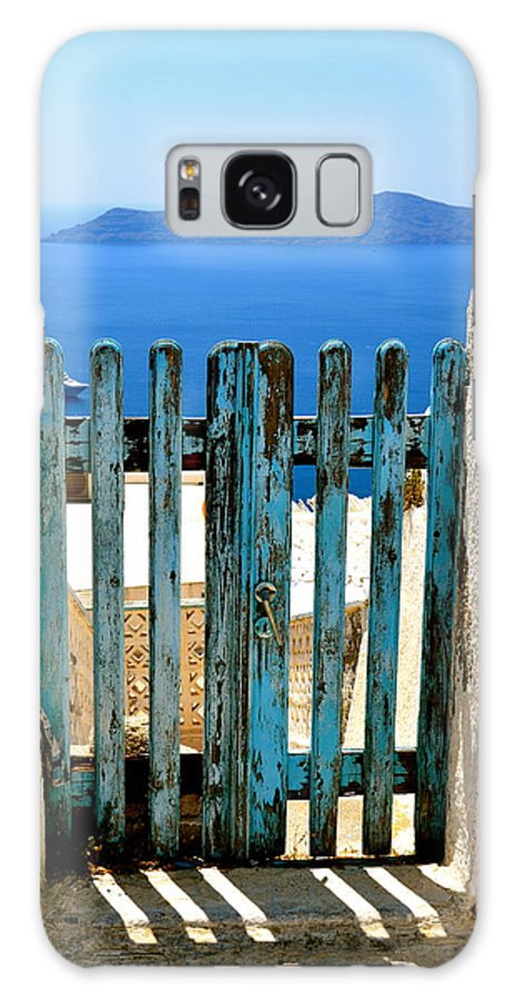 Gate Galaxy S8 Case featuring the photograph Old Gate by Corinne Rhode