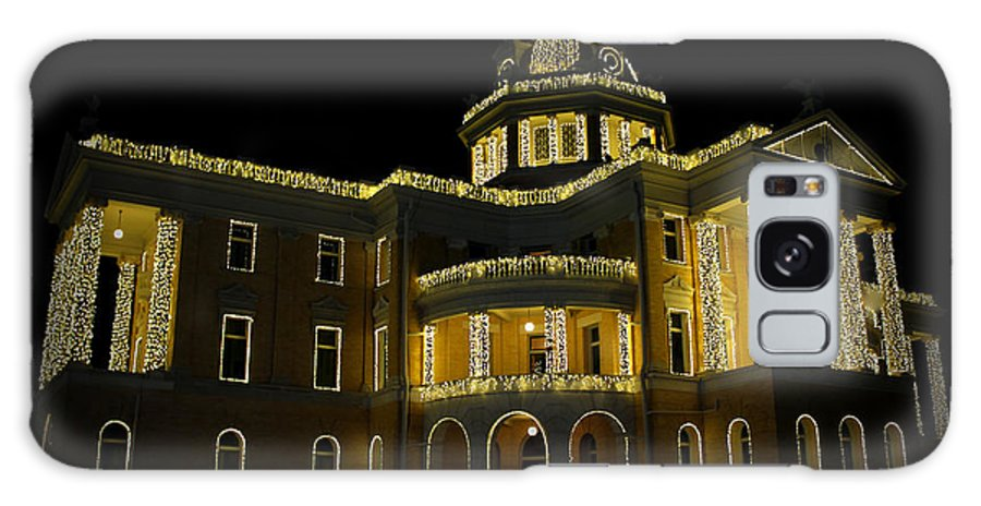 Old Harrison County Courthouse Galaxy S8 Case featuring the photograph Old Harrison County Courthouse by Kathy White