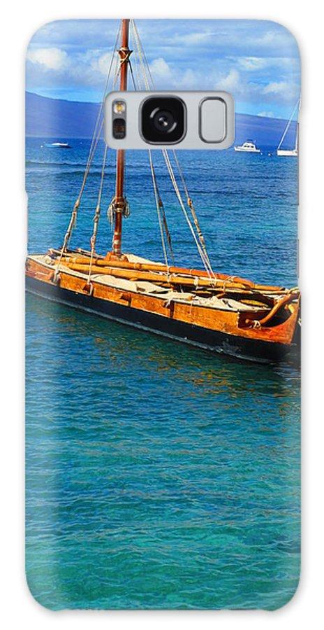 Elaine Haakenson Galaxy S8 Case featuring the photograph Old Hawaiian Sailboat by Elaine Haakenson