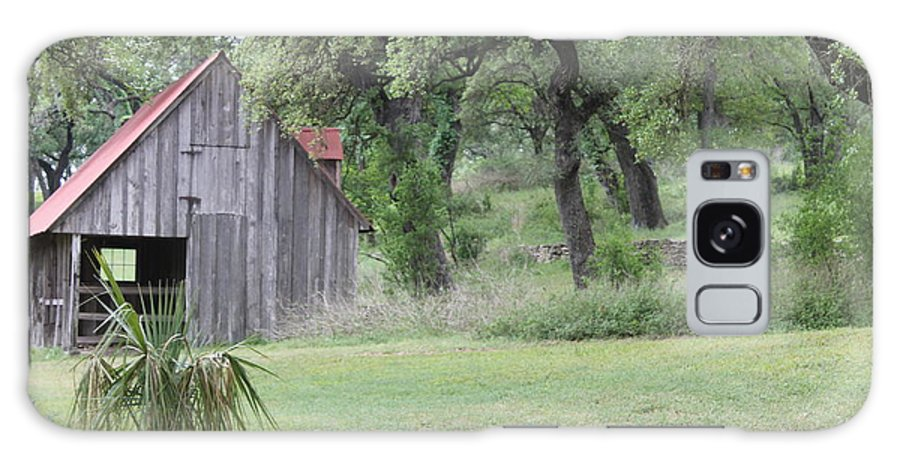 Horse Barn Galaxy S8 Case featuring the photograph Old Horse Barn by Angie Andress