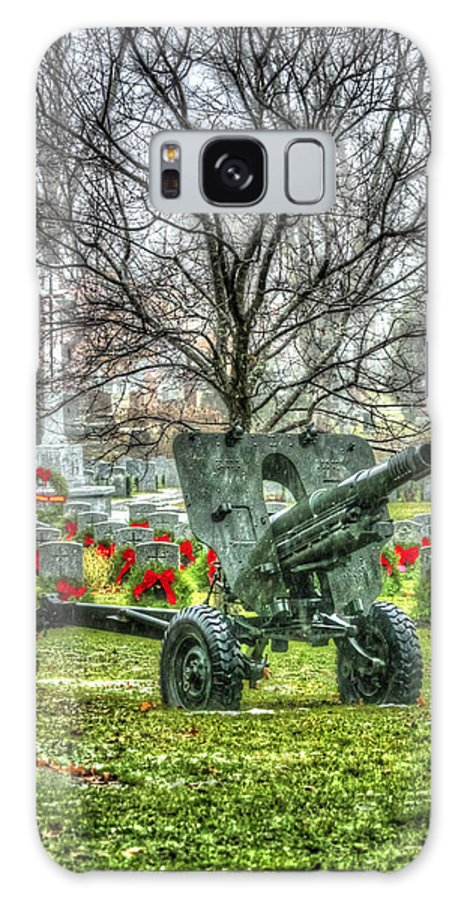 Howitzer Galaxy S8 Case featuring the photograph Old Howitzer by Joshua McCullough