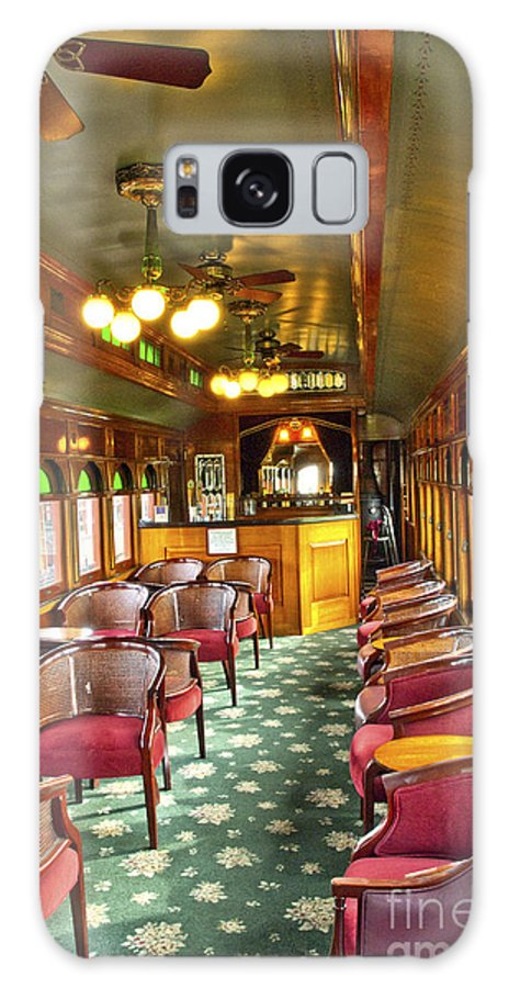 Strasburg Railroad Galaxy S8 Case featuring the photograph Old Lounge Car From Early Railroading Days by Paul W Faust - Impressions of Light