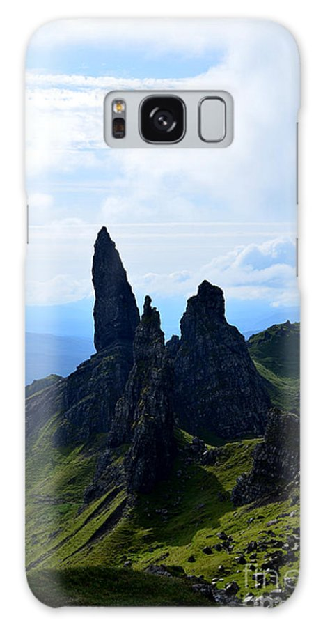 Old Man Of Storr Galaxy S8 Case featuring the photograph Old Man Of Storr Hike by DejaVu Designs