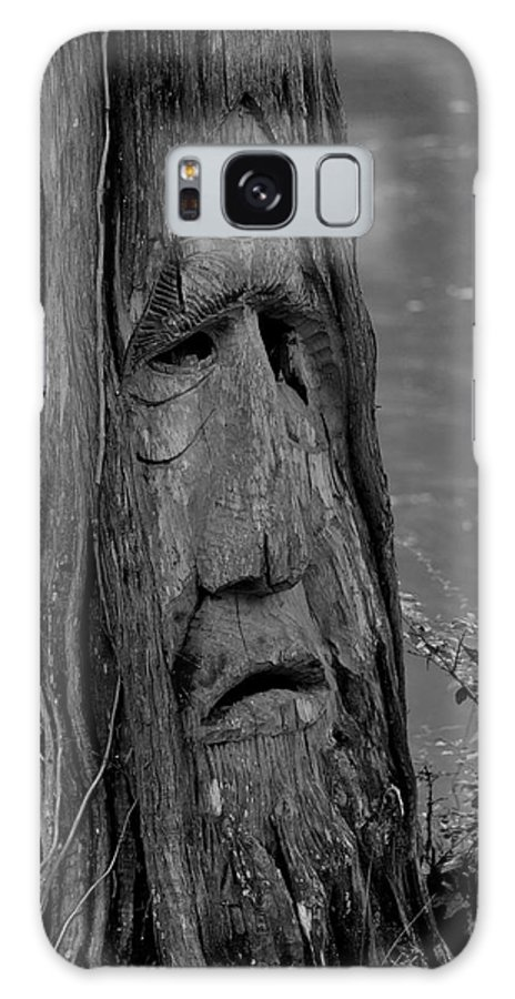 Old Man River Galaxy S8 Case featuring the photograph Old Man River by Maria Urso