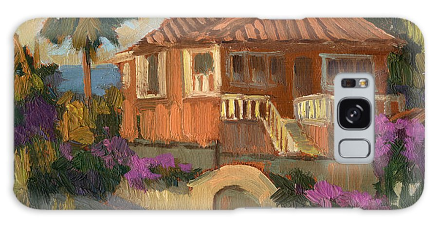 Old Mansion Galaxy S8 Case featuring the painting Old Mansion Costa Del Sol by Diane McClary