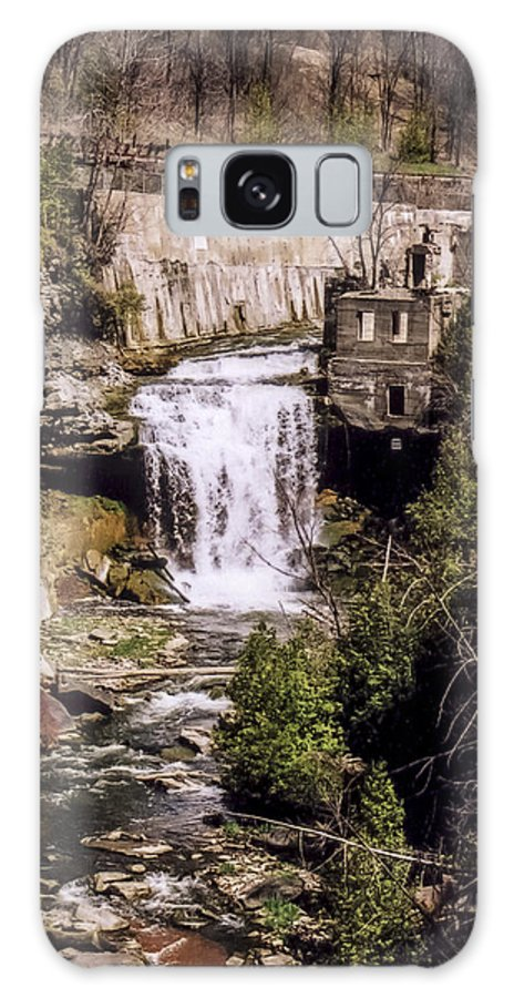 Credit Galaxy S8 Case featuring the photograph Old Mill On The Credit by Richard Kitchen
