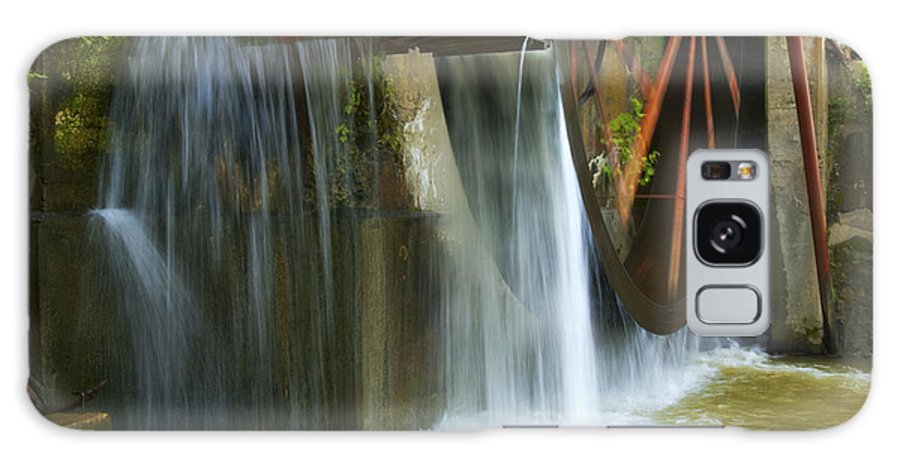 Water Galaxy S8 Case featuring the photograph Old Mill Water Wheel by Paul W Faust - Impressions of Light