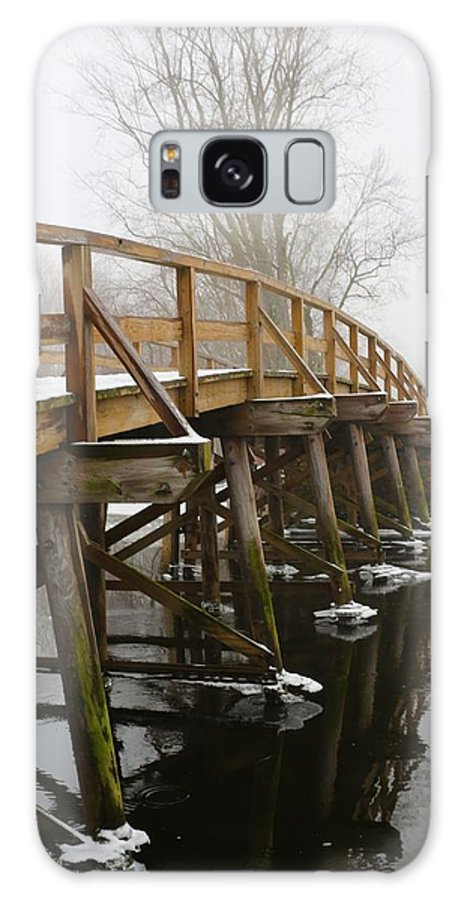 Old North Bridge Galaxy S8 Case featuring the photograph Old North Bridge by Allan Morrison