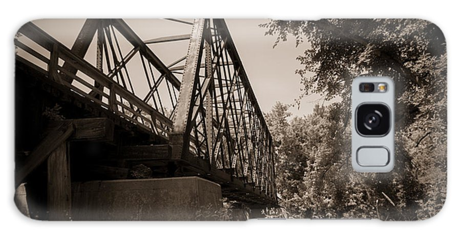 Trestle Galaxy S8 Case featuring the photograph Old Rail Bridge by M Dale