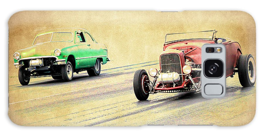 Rust Galaxy S8 Case featuring the photograph Old Scool Racing by Steve McKinzie