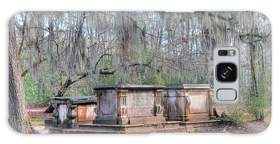 Old Sheldon Church Galaxy S8 Case featuring the photograph Old Sheldon Church Broken Tombs by Scott Hansen