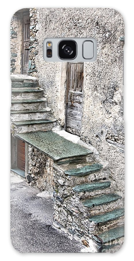 Architecture Galaxy S8 Case featuring the photograph Old Stairway by Gabriela Insuratelu